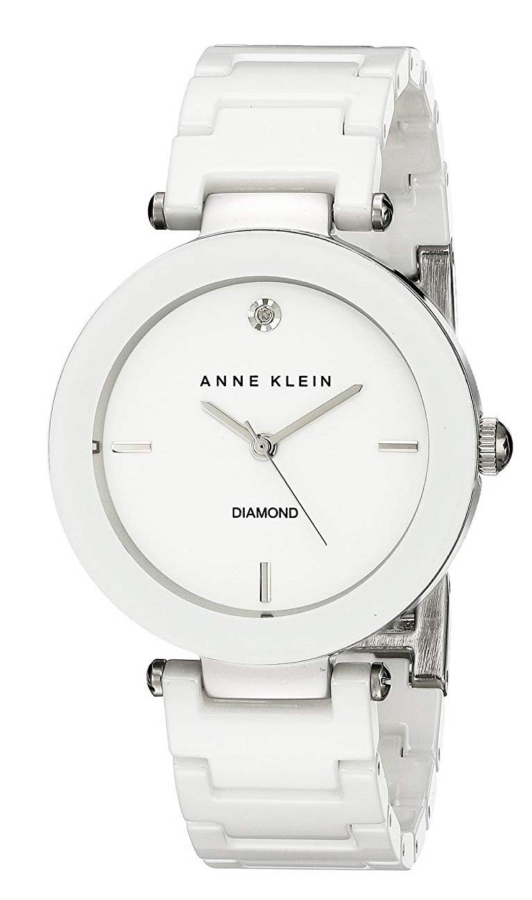 Anne Klein Ceramic Ladies Watch AK-1019WTWT