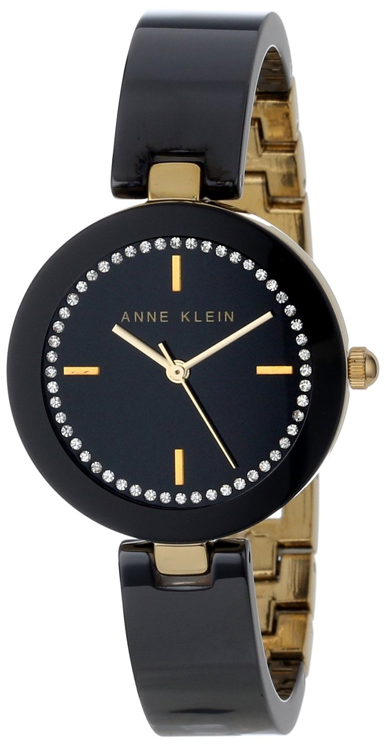 Anne Klein Ceramic Ladies Watch AK-1314BKBK