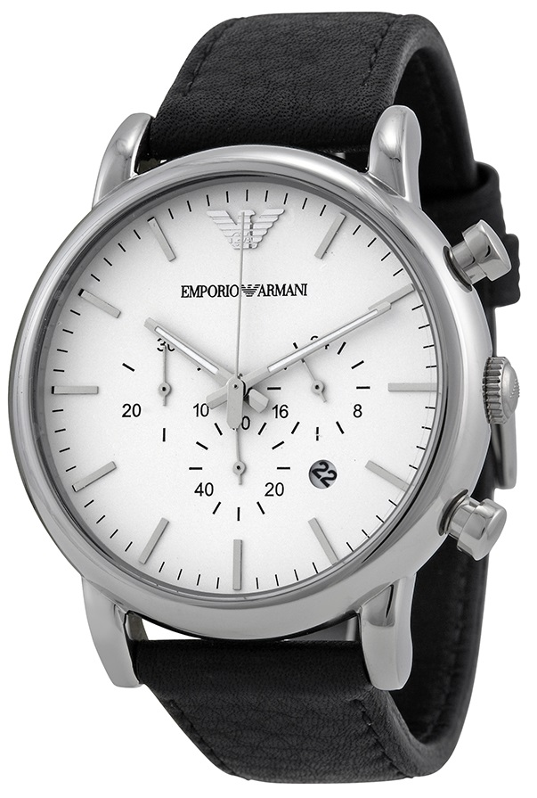 Emporio Armani Classic Leather Mens Watch AR1807