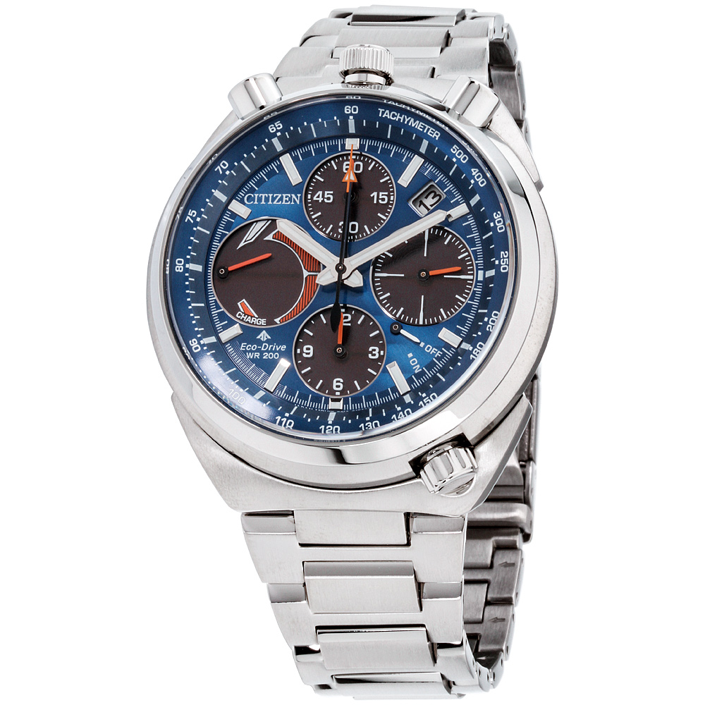 Citizen Eco-Drive Promaster Tsuno Chronograph Racer Mens Watch