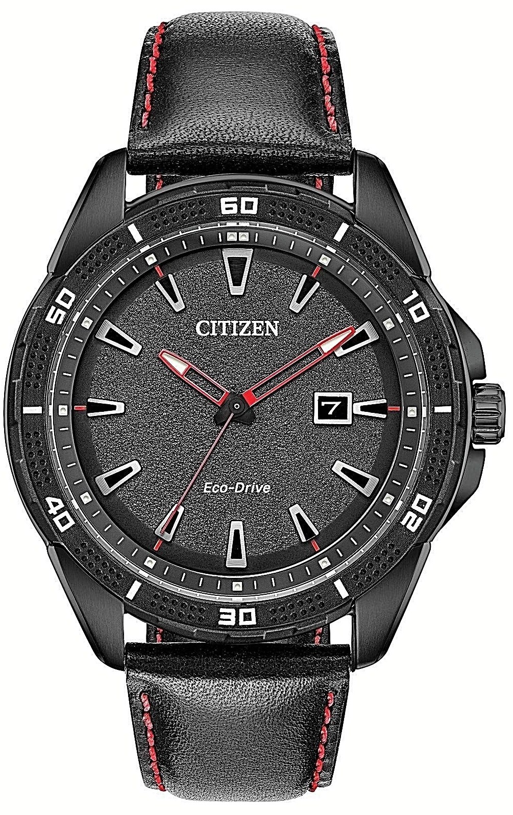 Citizen Eco-Drive AR Leather Mens Watch AW1585-04E