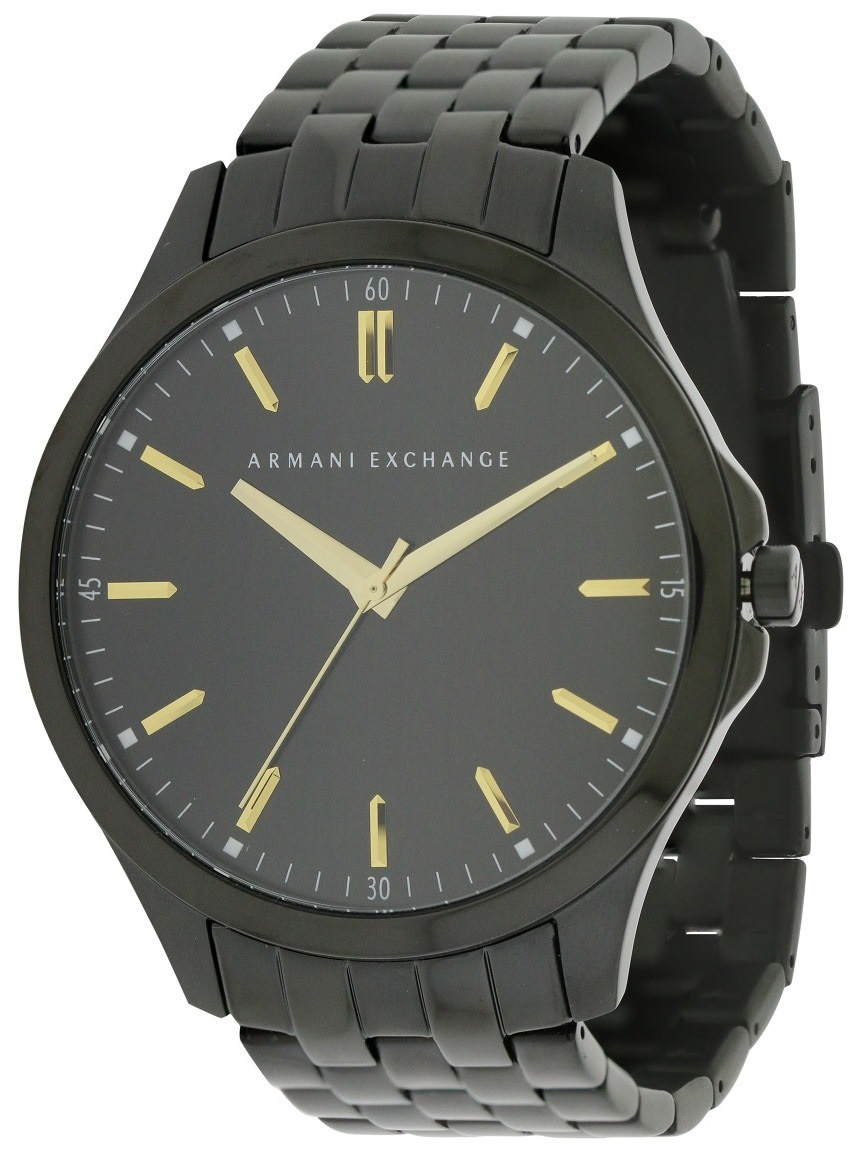 Armani Exchange Black Stainless Steel Mens Watch AX2144