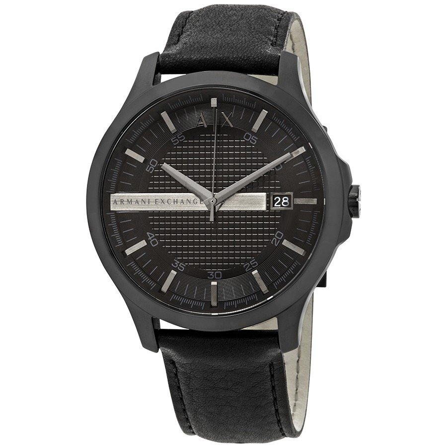Armani Exchange Leather Mens Watch AX2400
