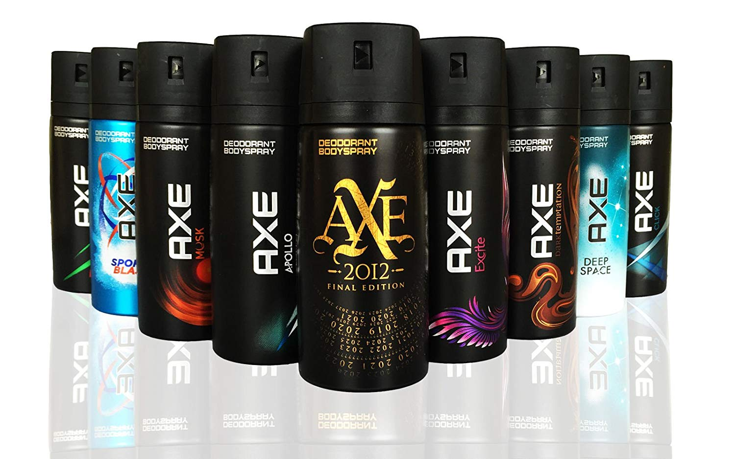 AXE Body Spray MIX - Pack of 6 - 150 ml