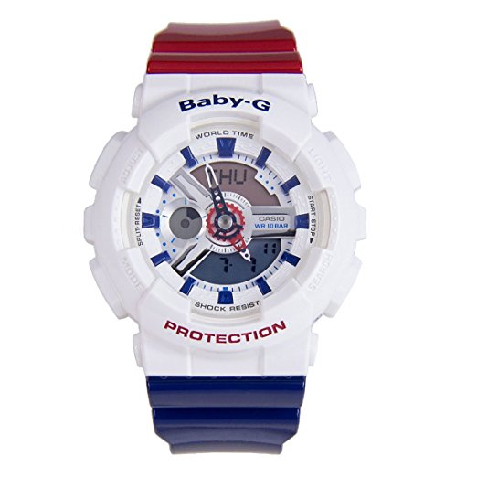 Casio Baby-G Punching Pattern Ladies Watch BA110PP-7ACR
