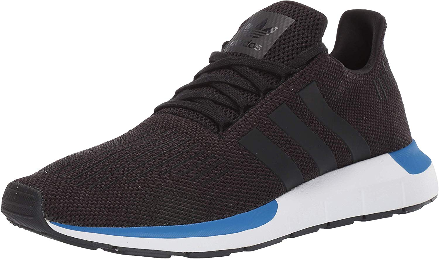 adidas Originals Mens Swift Running Shoe - Black/White - 10