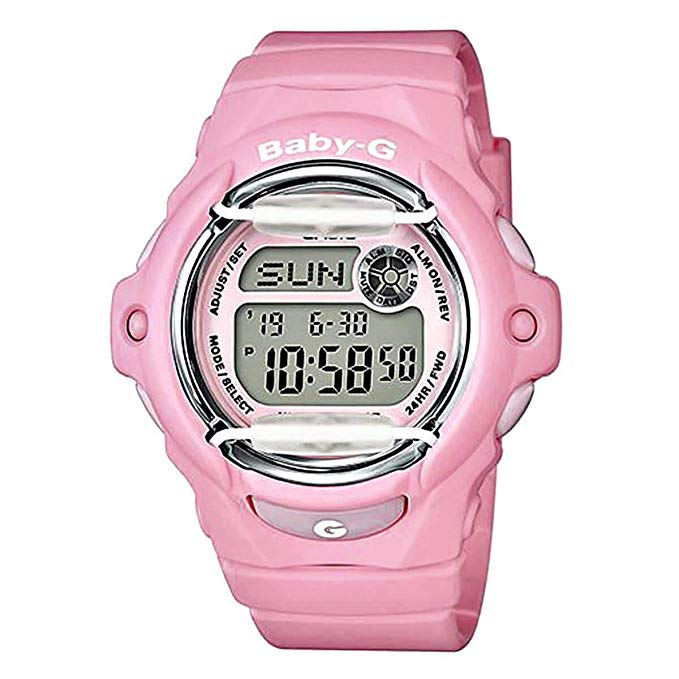 Casio Baby-G BLOOMING PINK Ladies Watch BG-169R-4CCR