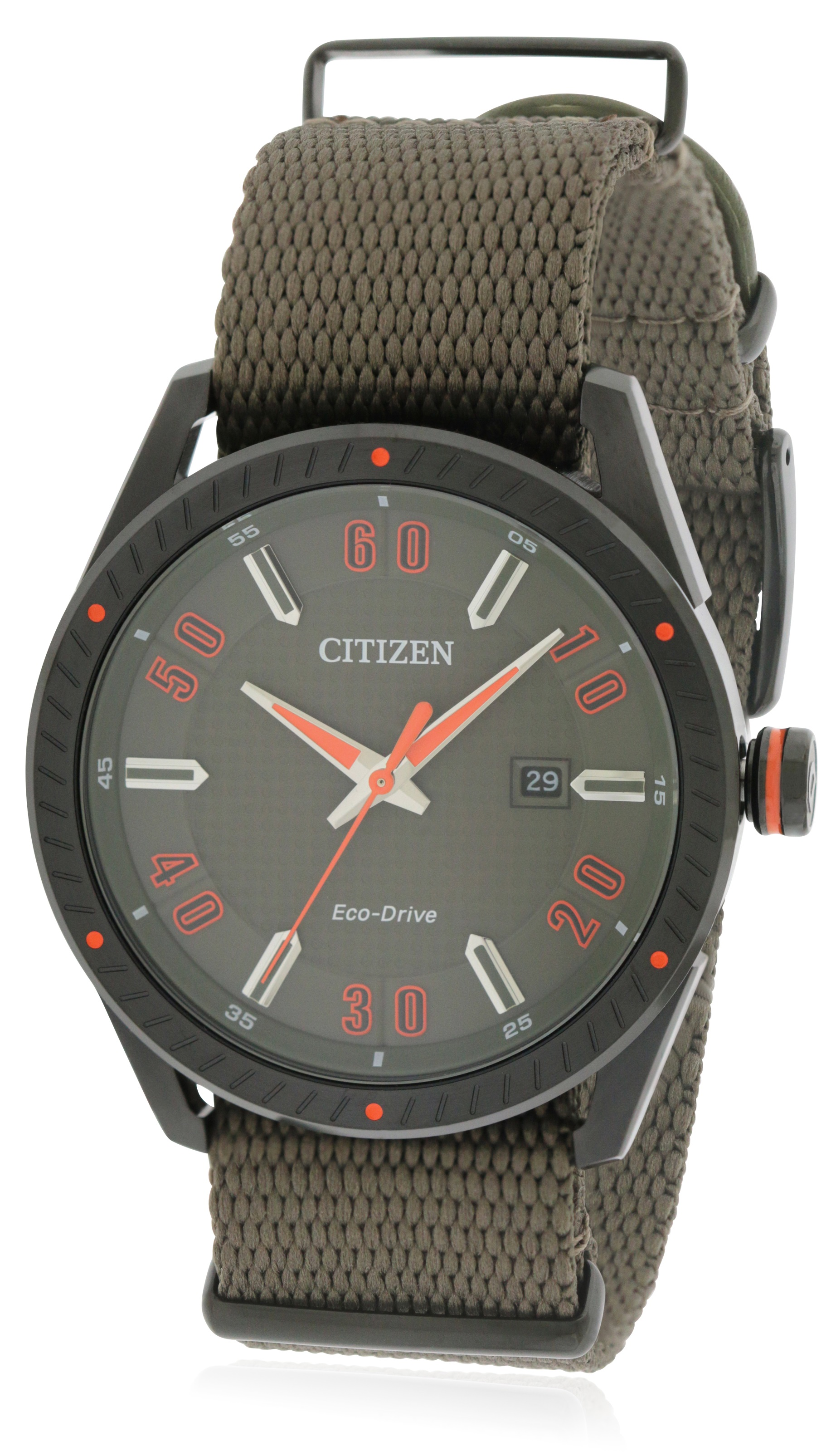 Citizen Drive Nylon Mens Watch BM6995-01X