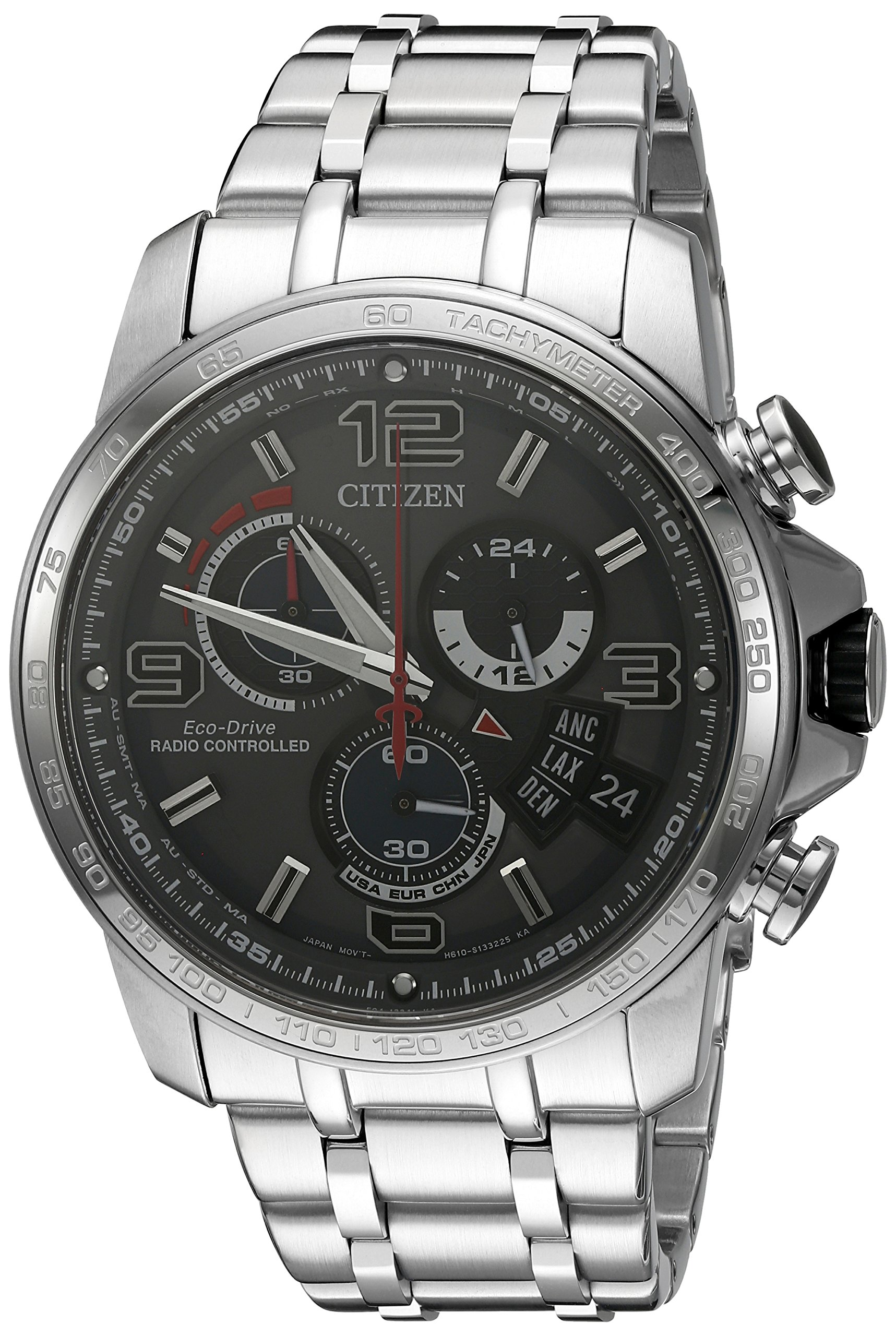 Citizen Chrono Time AT Stainless Steel Mens Watch BY0100-51H