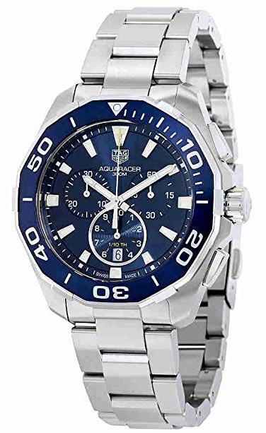Tag Heuer Aquaracer Chronograph Mens Watch CAY111B.BA0927