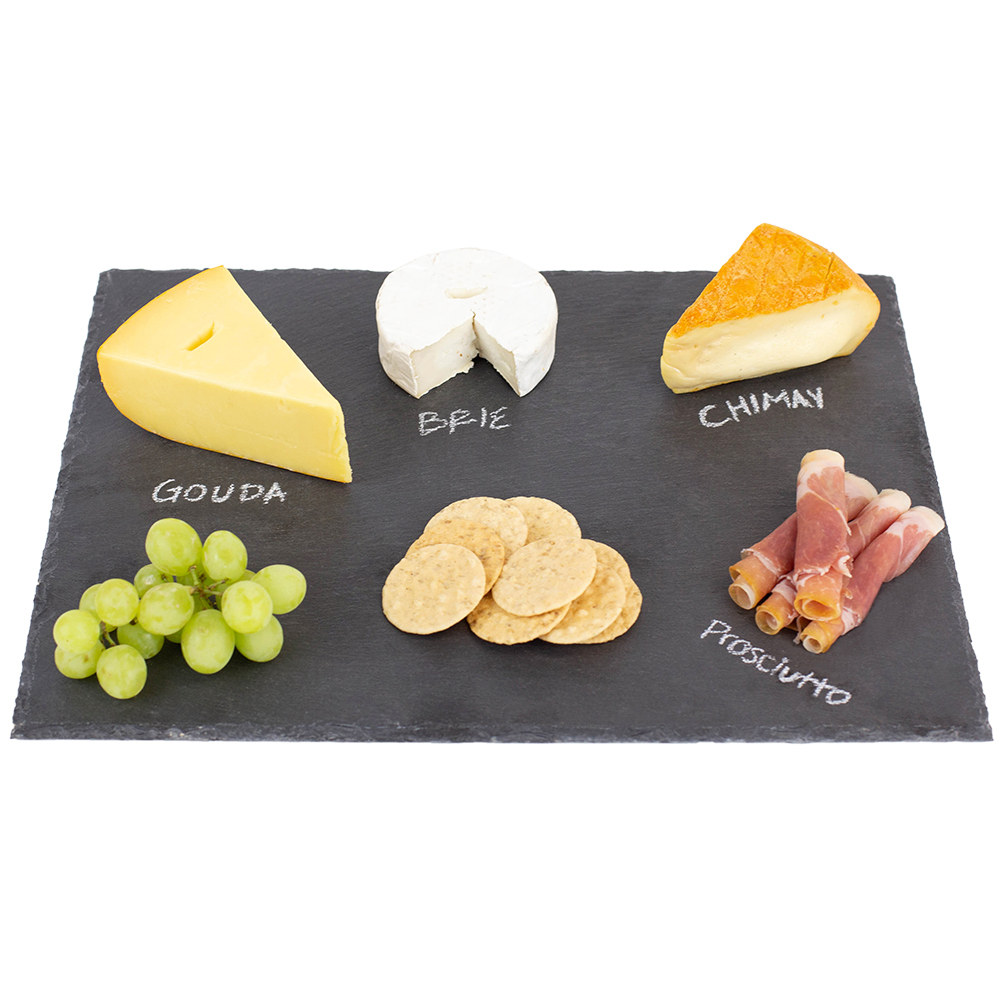 12x 16 Slate Cutting Board - Black