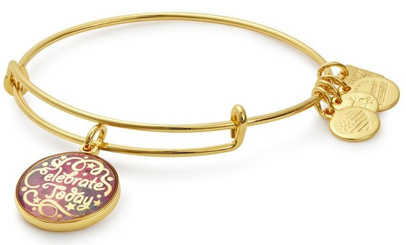 Alex and Ani American Cancer Society Celebrate Today Charm Bangle - CBD17CTSG