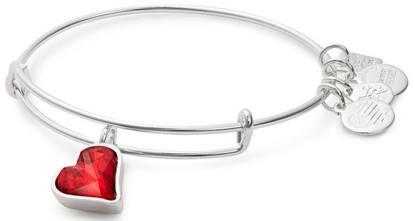 Alex and Ani (PRODUCT)RED Heart of Strength Charm Bangle - CBD17HOSSS