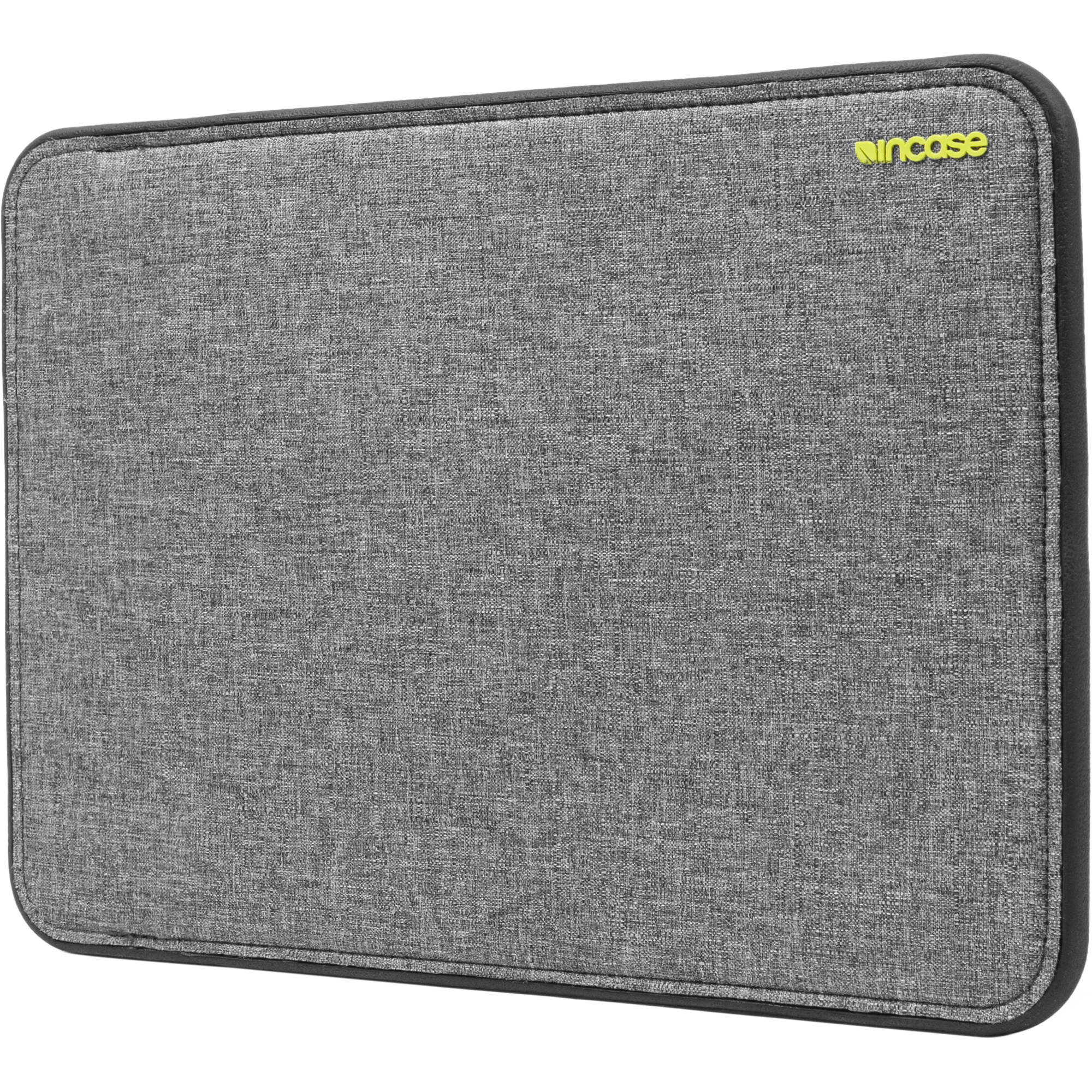 Incase Designs ICON Sleeve with TENSAERLITE for 13 Inch MacBook Pro Retina - Heather Gray / Black - CL60647 (OPEN BOX)