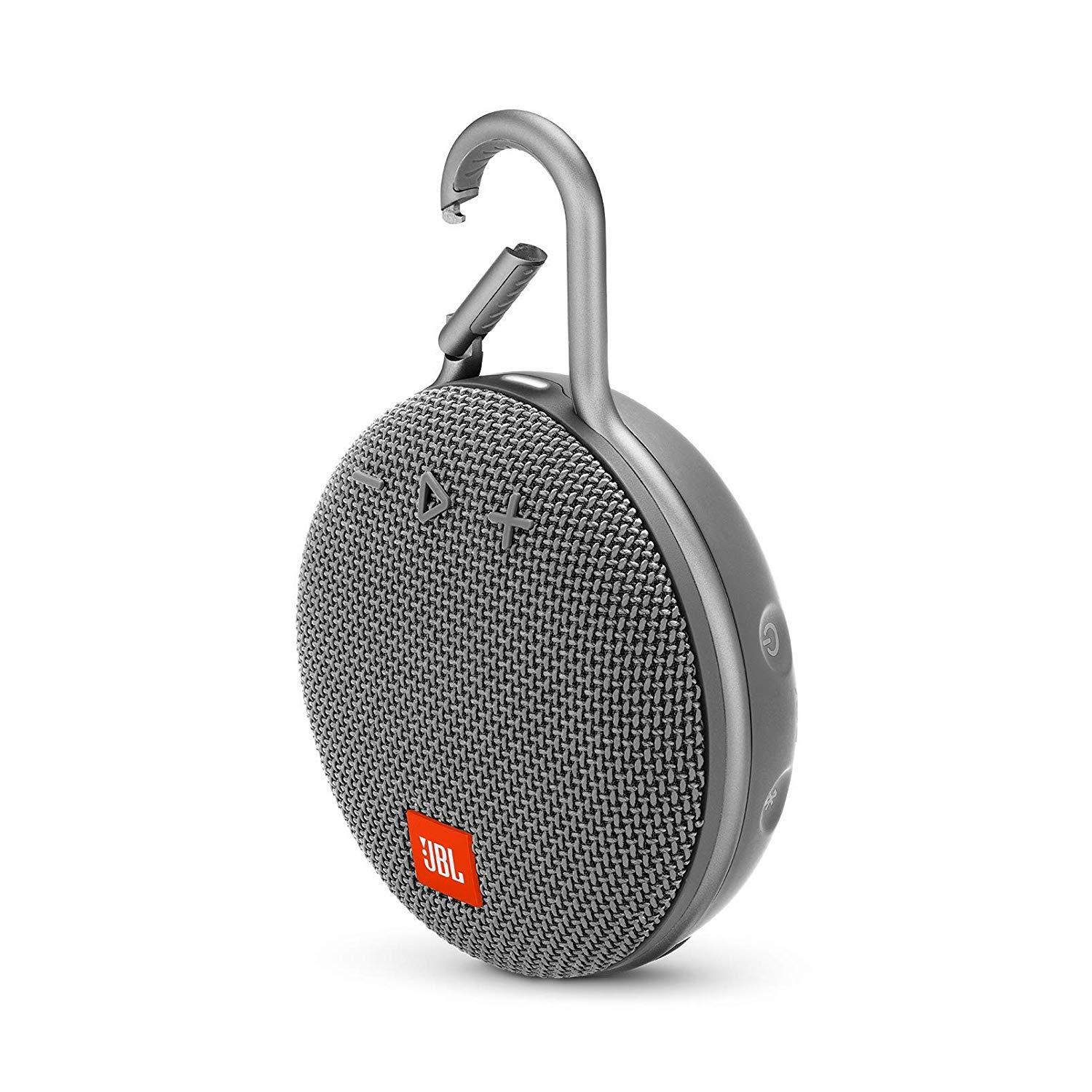 JBL Clip 3 Portable Waterproof Wireless Bluetooth Speaker - Gray - CLIP3-GRAY