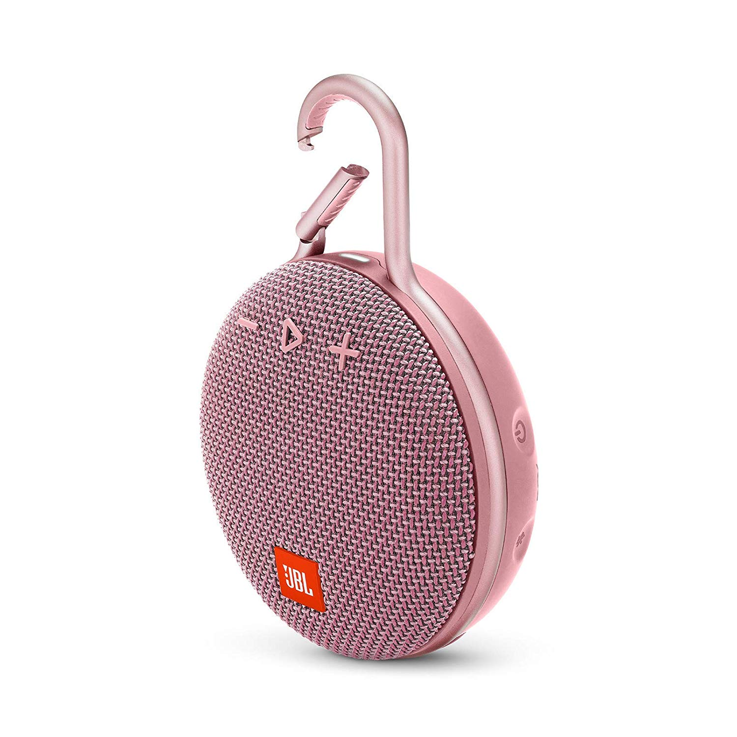 JBL Clip 3 Portable Waterproof Wireless Bluetooth Speaker - Pink - CLIP3-PINK