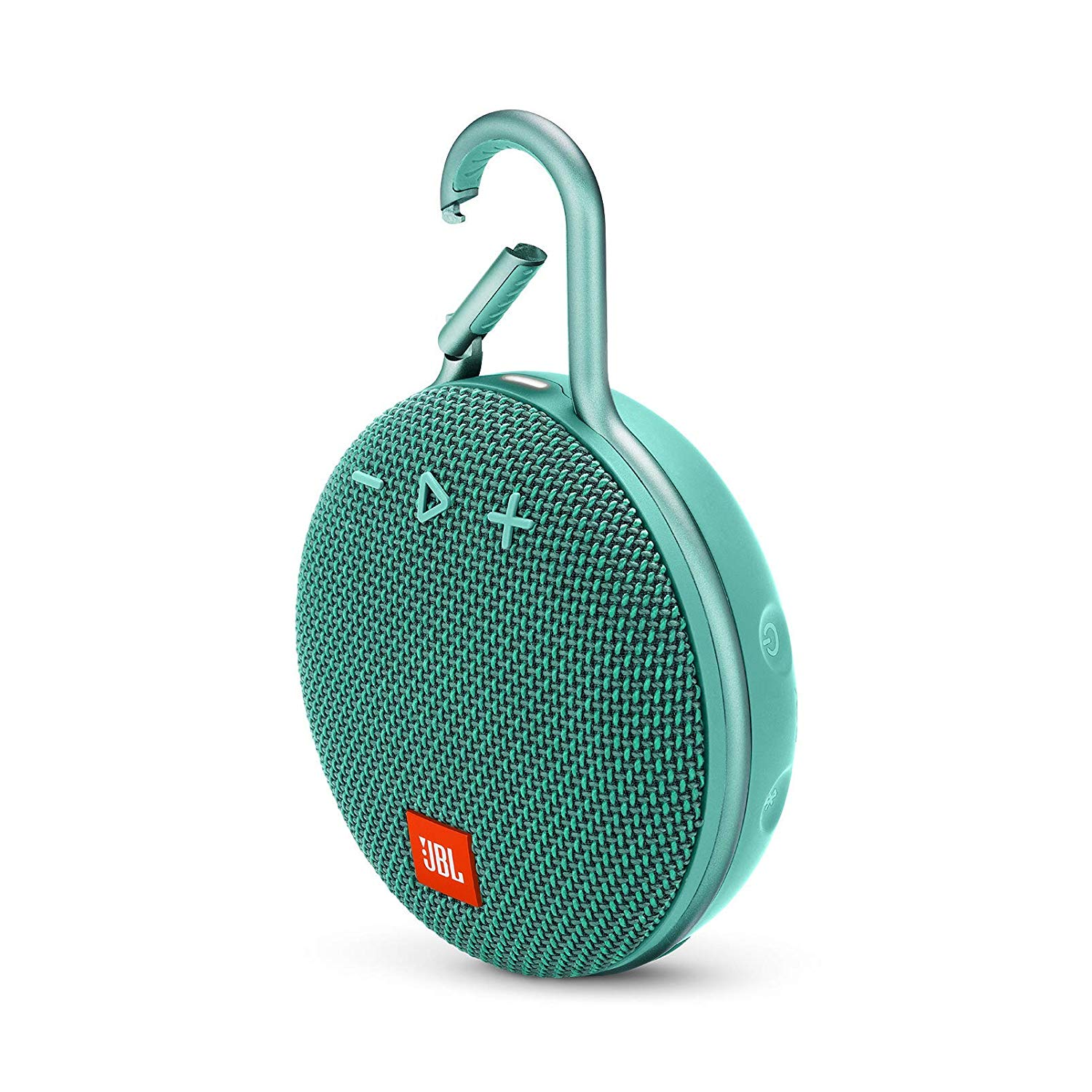 JBL Clip 3 Portable Waterproof Wireless Bluetooth Speaker - Teal - CLIP3-TEAL