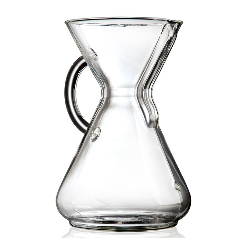Chemex Glass Handle Pour-over Coffeemaker 8-Cup