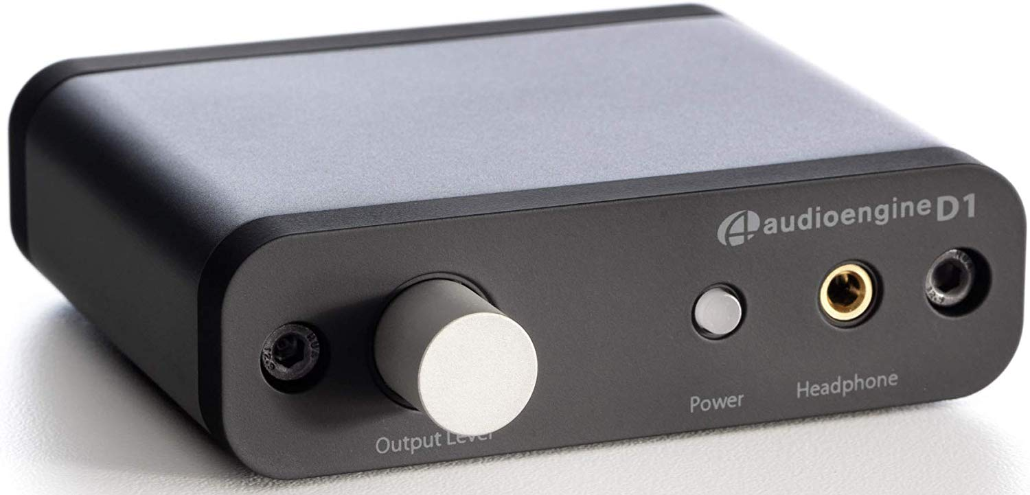Audioengine D1 24-Bit DAC - Premium Desktop Digital To Analogue Converter and Headphone Amplifier