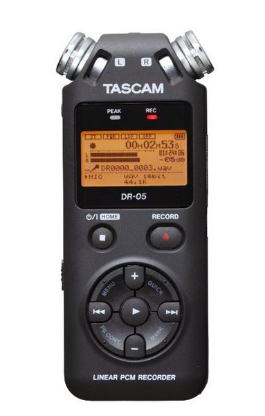 TASCAM Portable Digital Recorder (Version 2) - DR-05 (OPEN BOX)