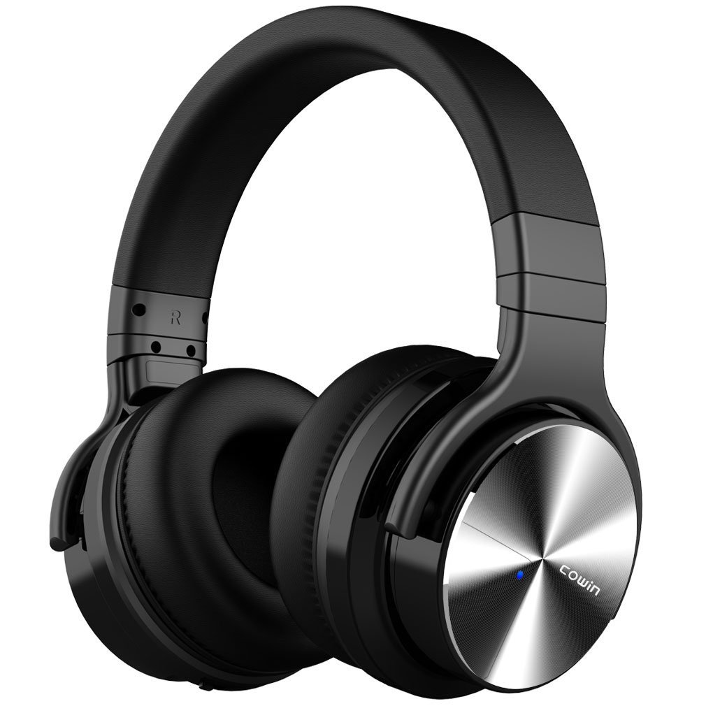 COWIN Active Noise Cancelling Headphone Bluetooth Headphones With Microphone - E7-PRO