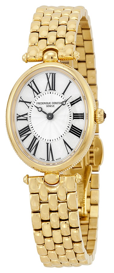 Frederique Constant Art Deco Gold-Tone Stainless Steel Ladies Watch FC-200MPW2V5B