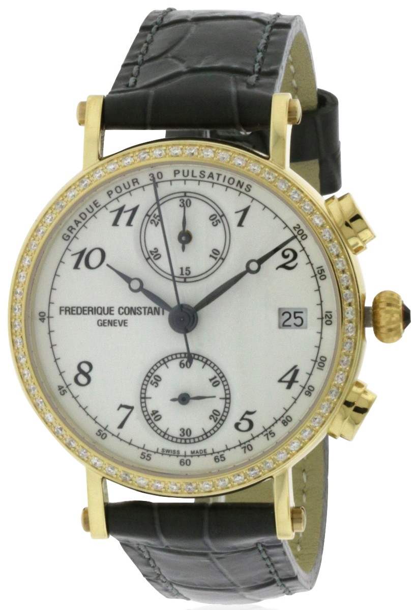Frederique Constant Classics Chronograph Ladies Watch FC-291A2RD5