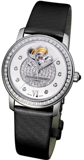 Frederique Constant Double Heart Beat  Ladies Watch FC-310DHBPV2PD6