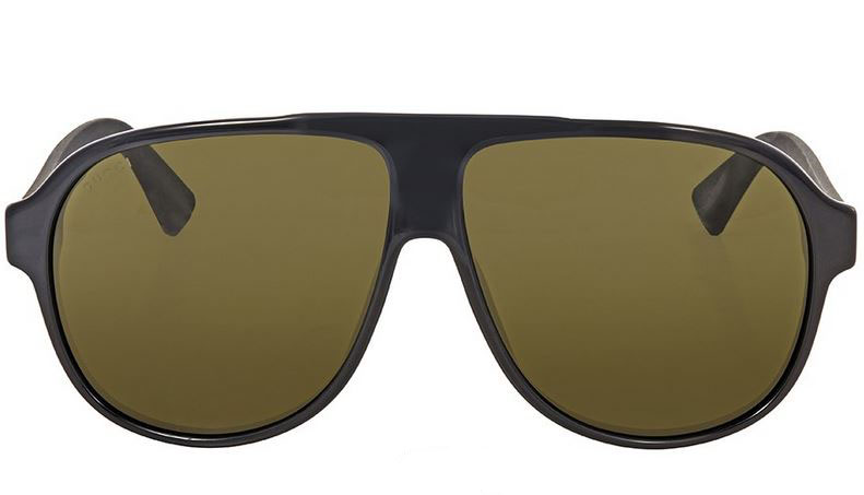 Gucci Black Aviator Sunglasses GG0009S-001
