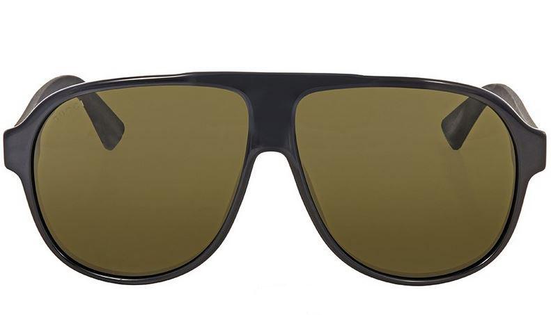 743ce0cc454 Gucci Black Aviator Sunglasses GG0009S-001