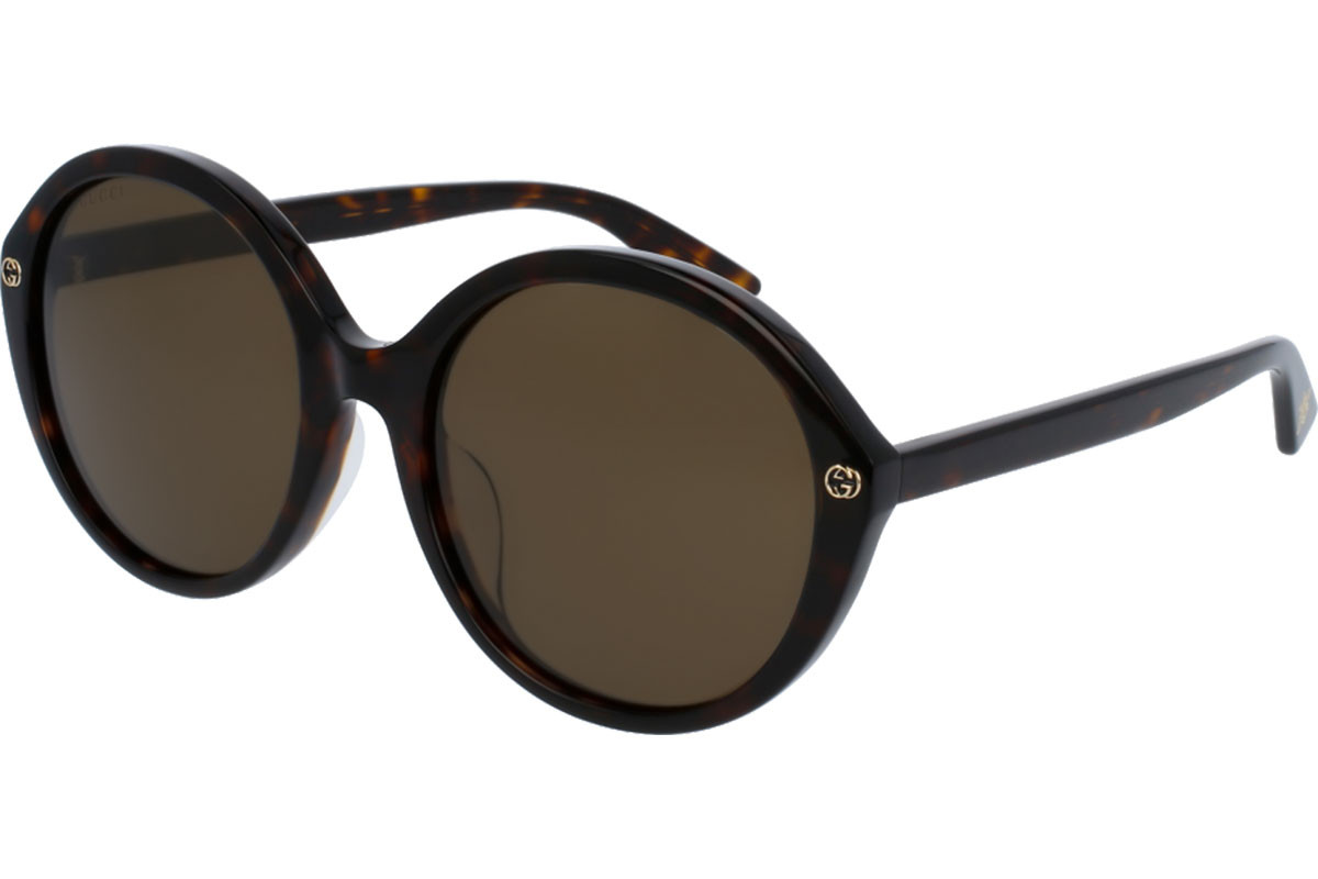 Gucci Havana Black Ladies Sunglasses - GG0023SA-002