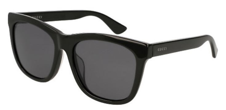 Gucci Black Ladies Sunglasses - GG0057SK-006