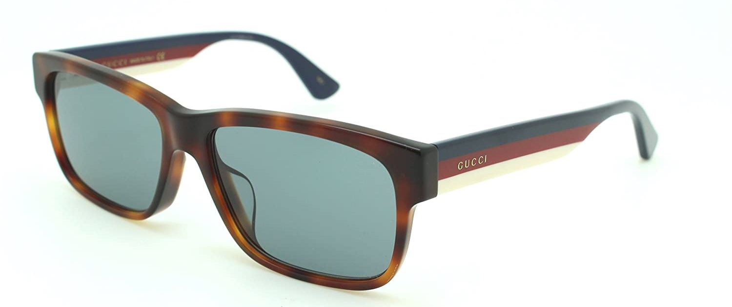 Gucci Havana Ladies Sunglasses - GG0340SA-004