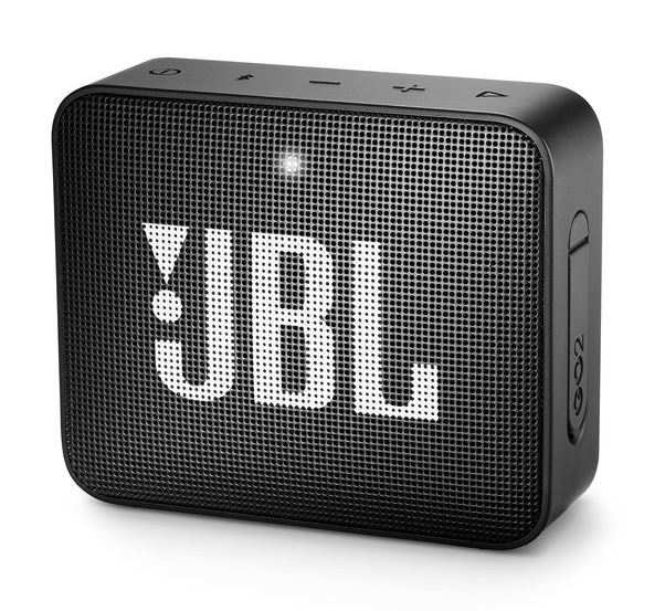 JBL GO 2 Portable Bluetooth Speaker - Black