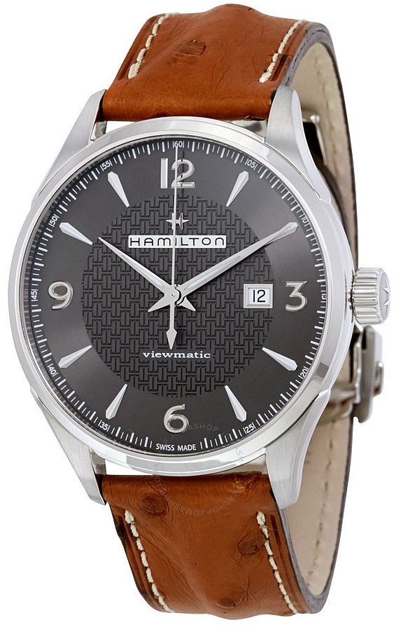 Hamilton Jazzmaster Leather Automatic Mens Watch H32755851