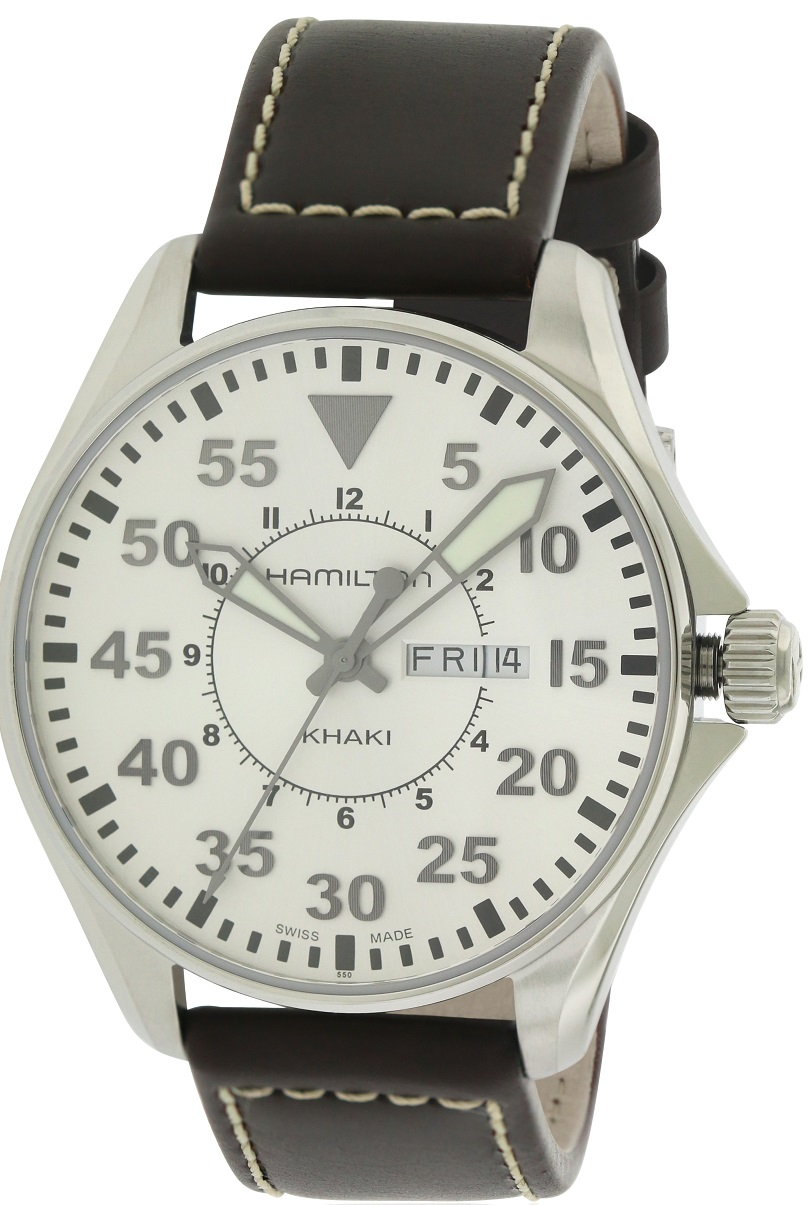 HAMILTON KHAKI AVIATION PILOT MENS WATCH H64611555