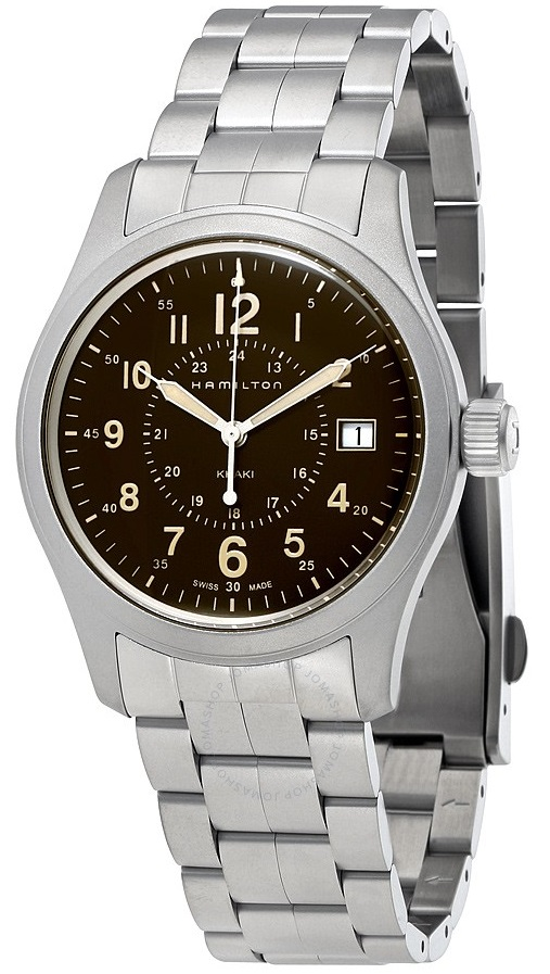 Hamilton Khaki Field Stainless Steel Mens Watch H68201193