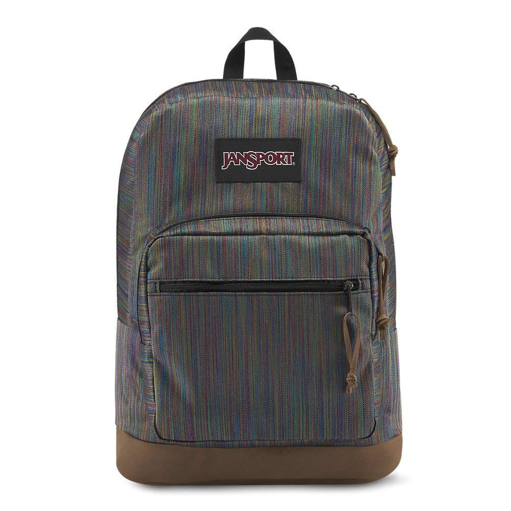JanSport Right Pack Digital Edition Laptop Backpack - Multi Color Woven Stripe - JS00T58T45U