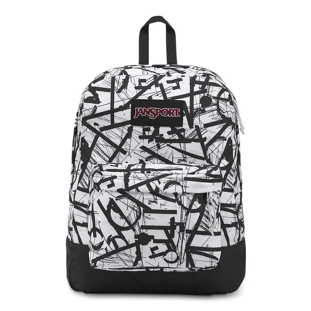 JanSport Black Label Superbreak Backpack - Broken Language - JS00T60G4D2