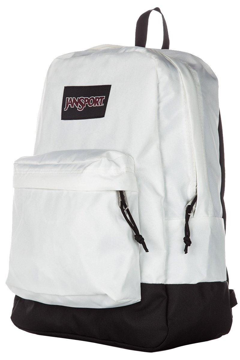 JanSport SuperBreak Backpack - White - Black Label - JS00T60GWHX