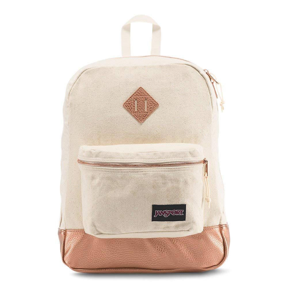 Jansport Super Fx Backpack - Rose Gold - JS0A2SDR3K6