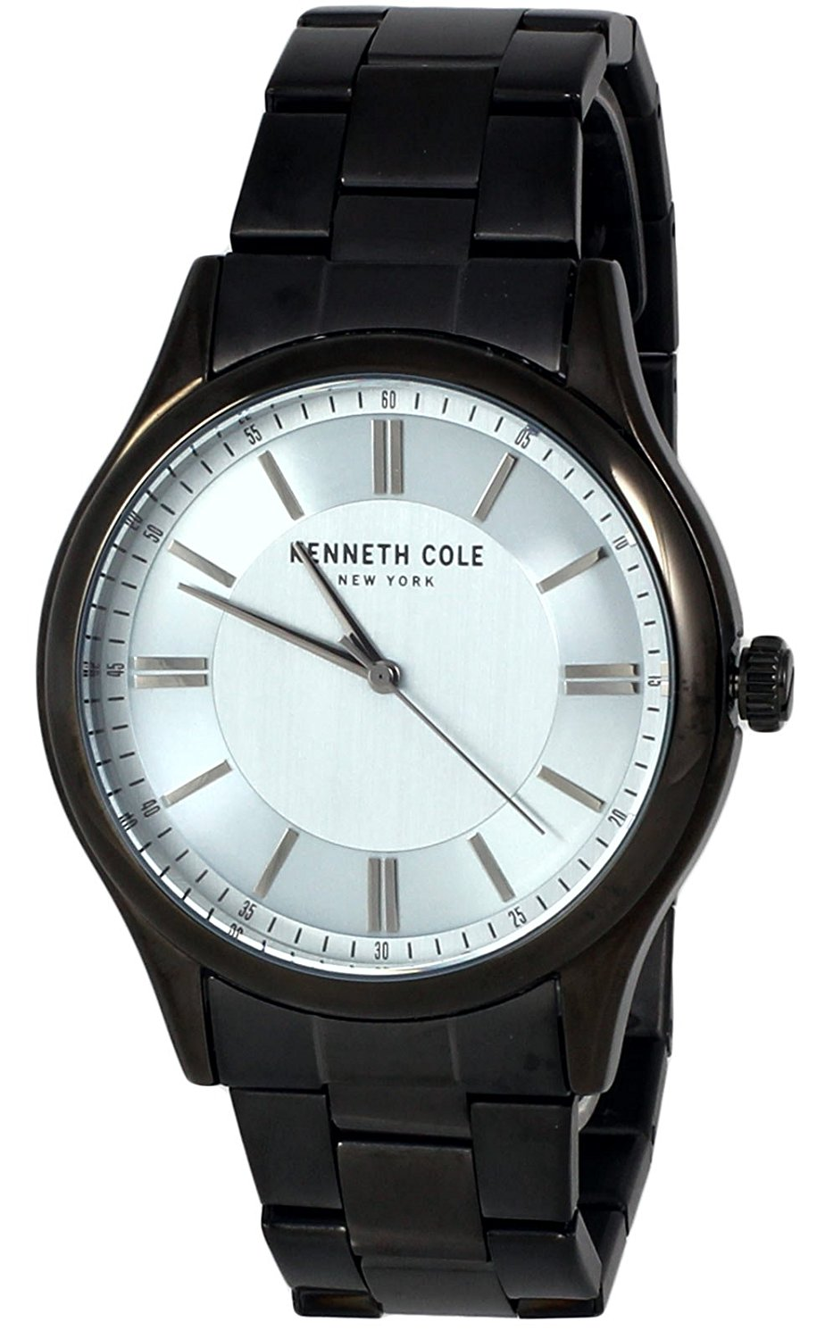 Kenneth Cole Black Stainless Steel Mens Watch KC50133001