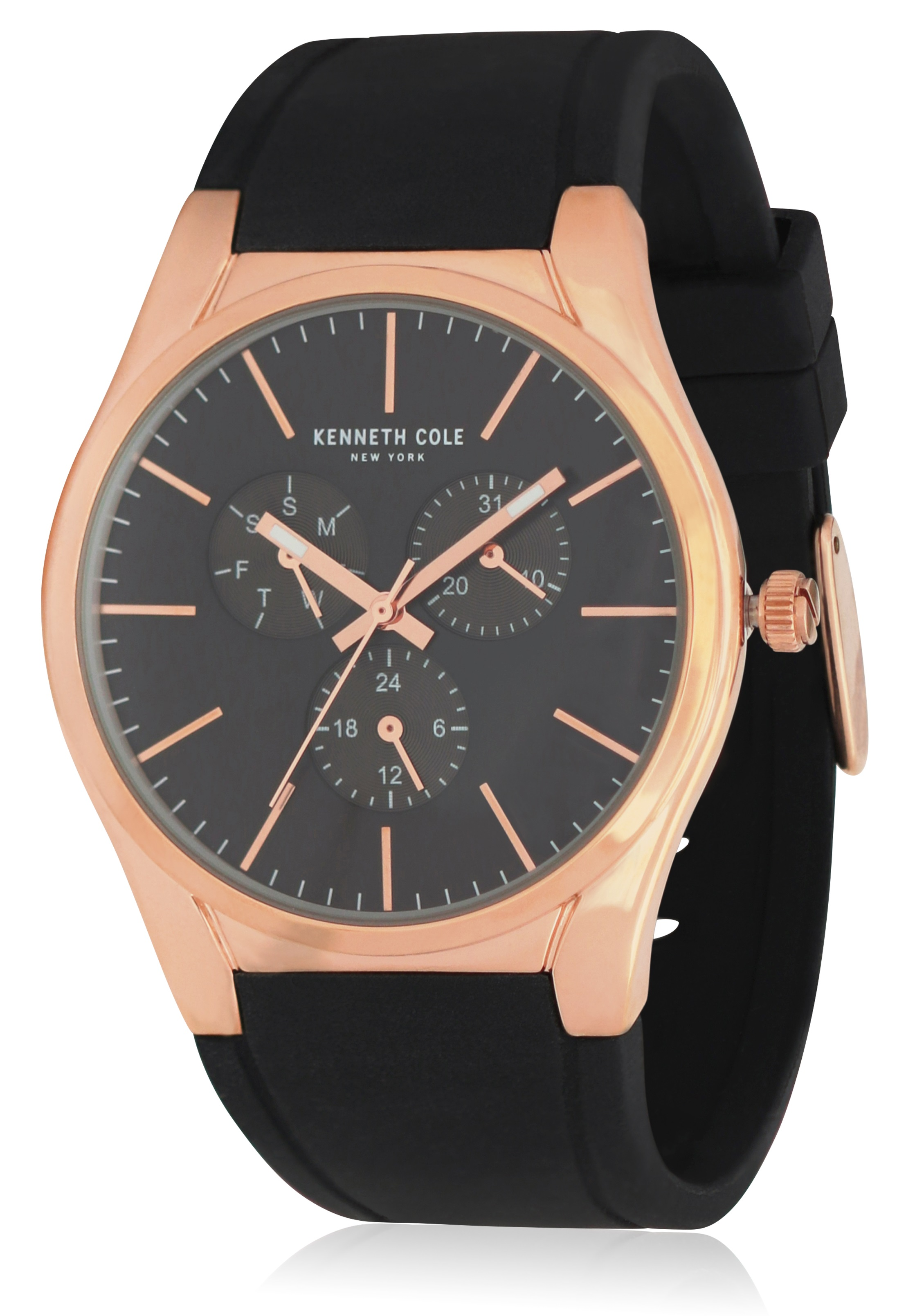 Kenneth Cole Leather Mens Watch KC50490004