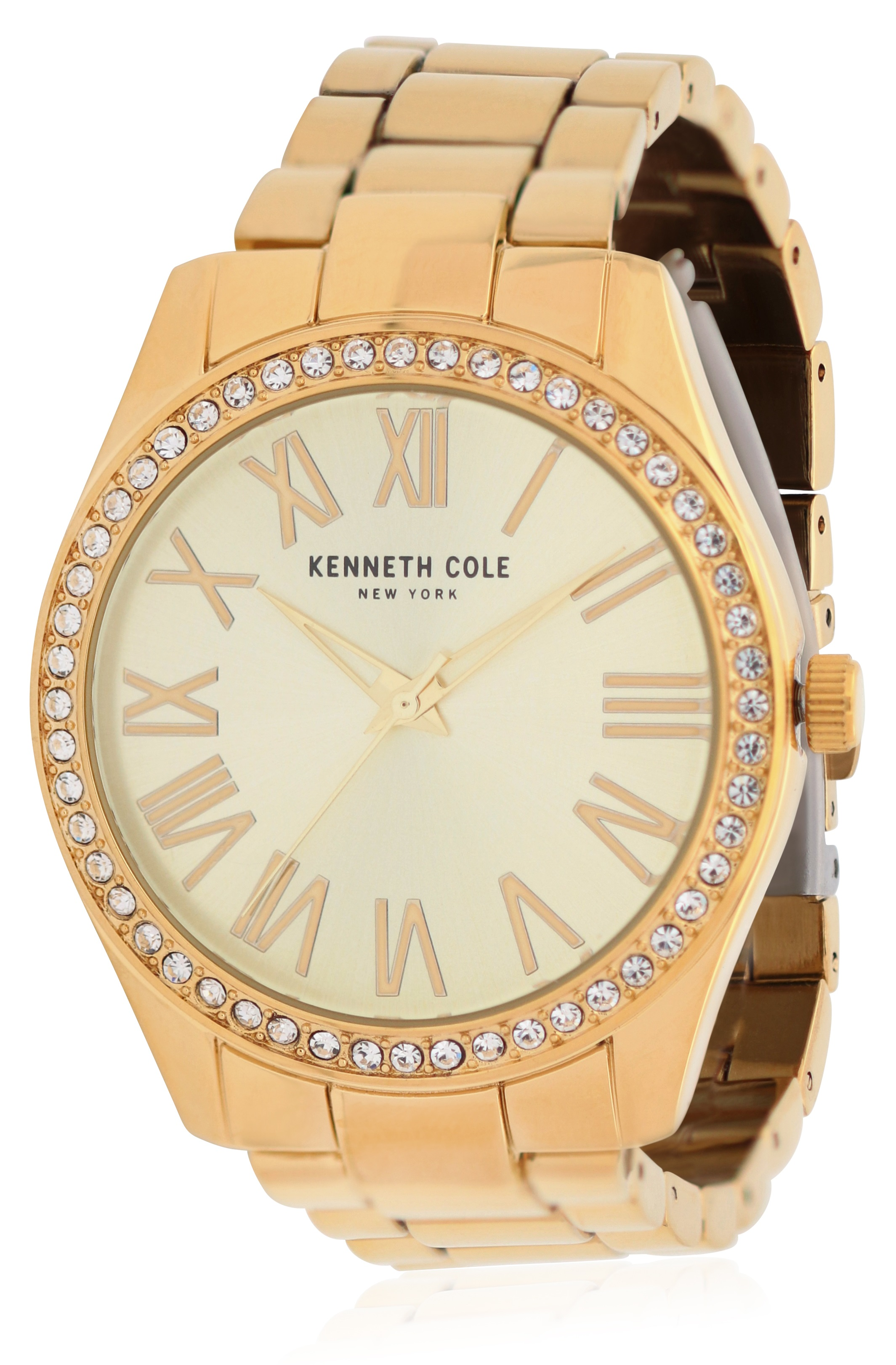 Kenneth Cole Gold-Tone Ladies Watch KC50664001