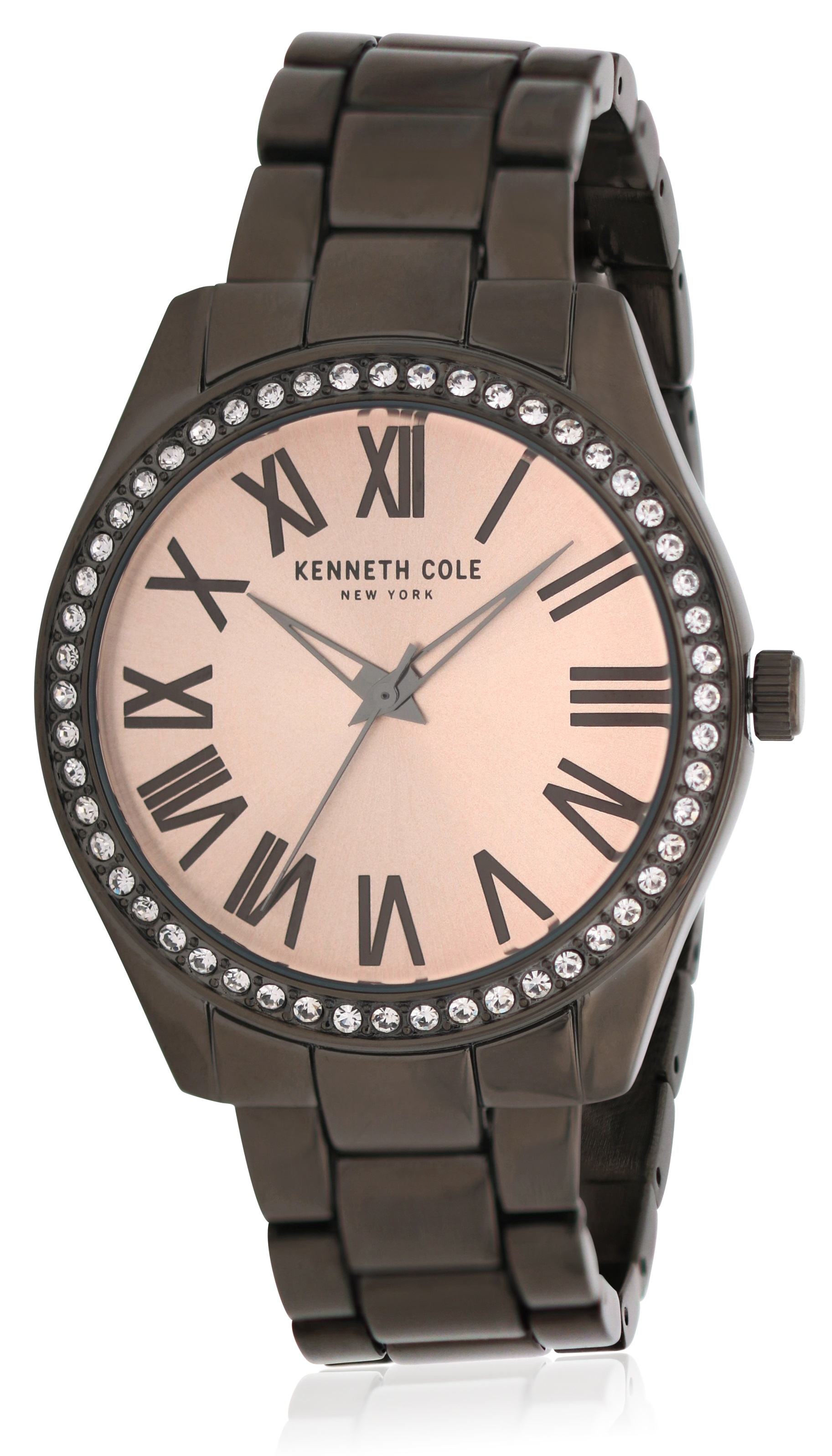 Kenneth Cole Black Stainless Steel Ladies Watch KC50664005