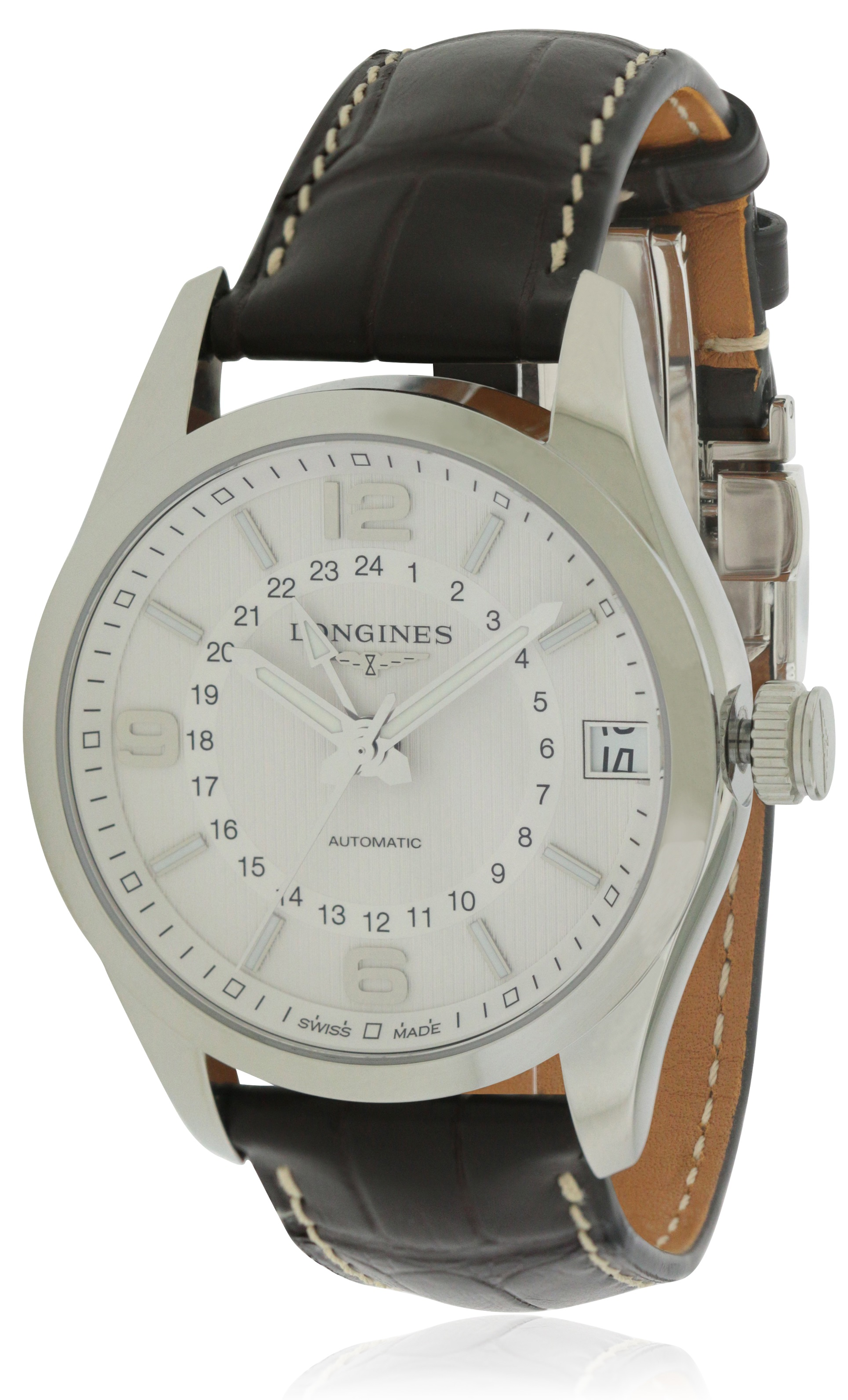 Longines Conquest Classic Leather Automatic Mens Watch L27994763