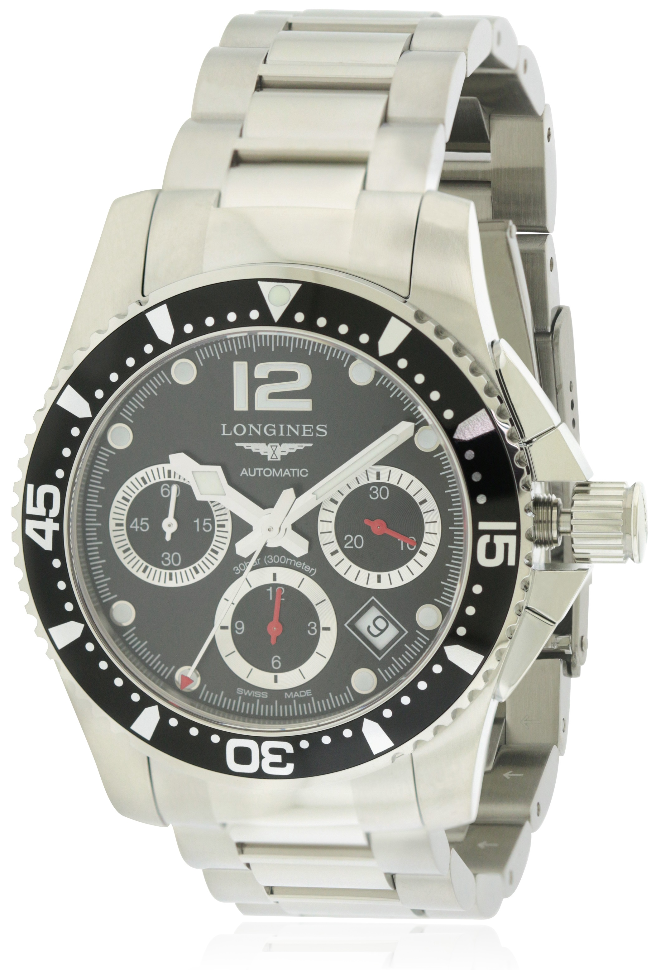 Longines HydroConquest Stainless Steel Automatic Mens Watch L37444566