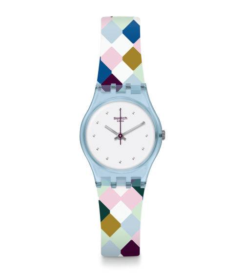 Swatch ARLE-QUEEN Silicone Ladies Watch LL120