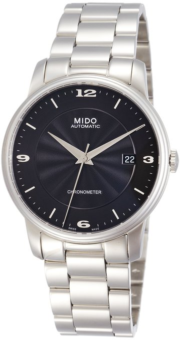 Mido Baroncelli Stainless Steel Automatic Mens Watch M010.408.11.057.00