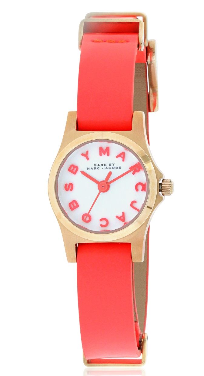 Marc by Marc Jacobs Henry Leather Ladies Watch MBM1315